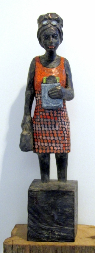 Edeka-Bronze mit Butterbrot E.A. 1