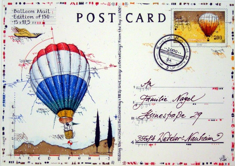 Postcard Balloon