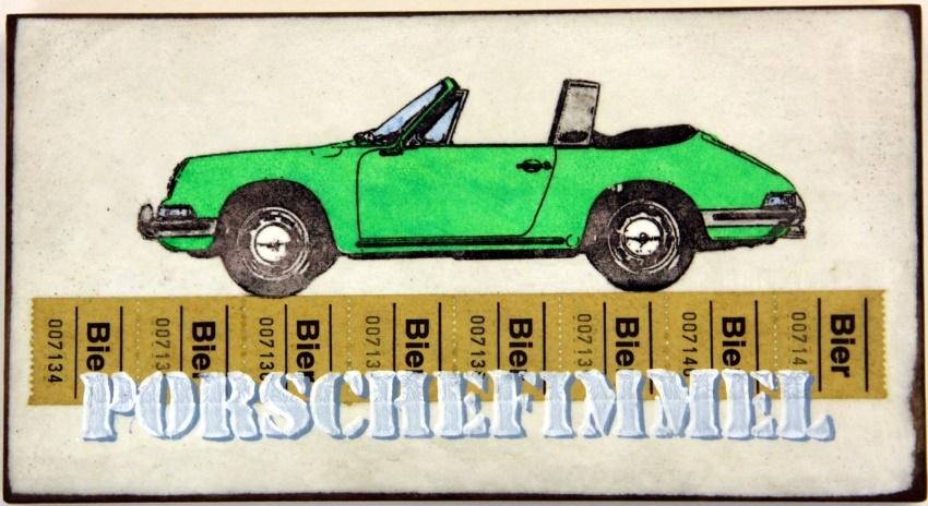 Porschefimmel Grün nach Links