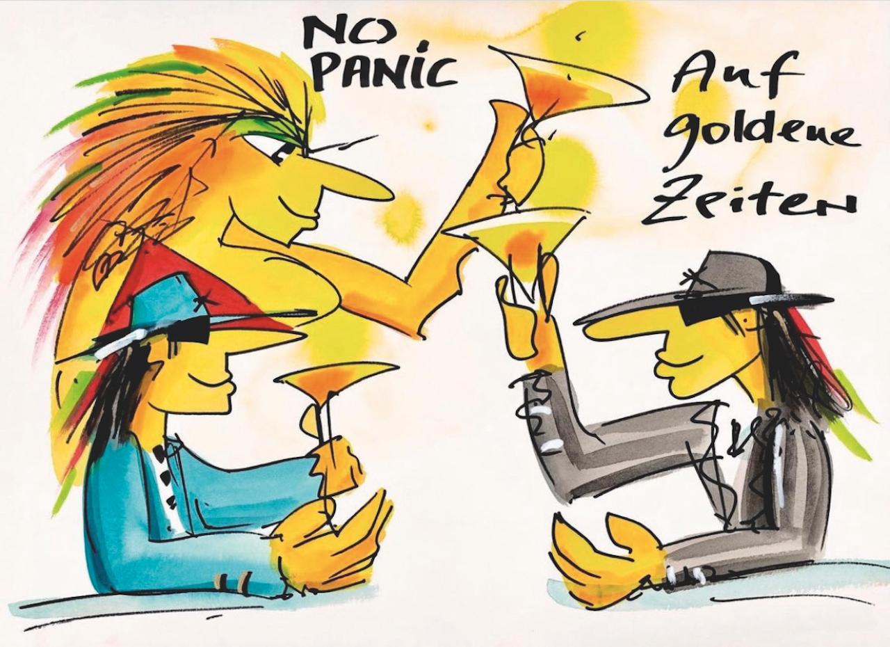 No Panic - Auf goldene Zeiten - 2021