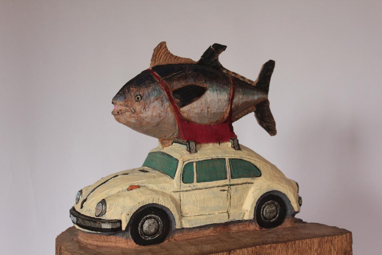 VW mit Thunfisch