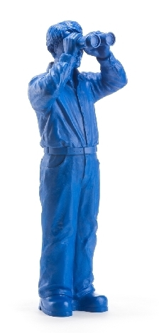 Weltanschauungsmodell III - blau