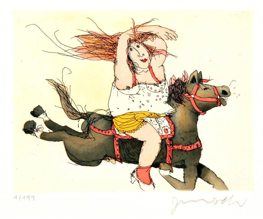 Susanne hat ein Pferd juchhe
