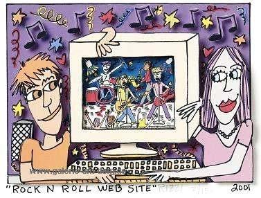 Rock n Roll Web Site