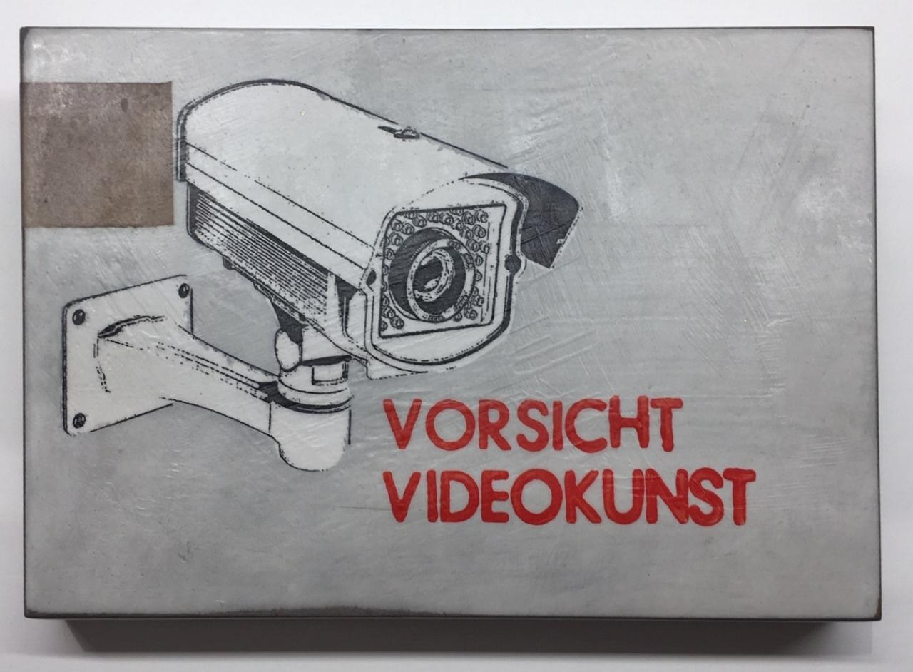 Vorsicht Videokunst