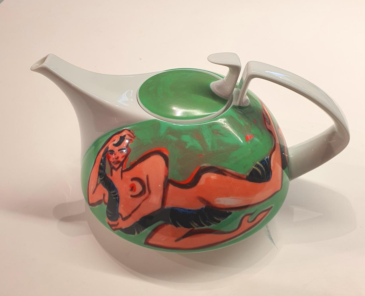 "Rosenthal Teekanne ""Giftschlange"""