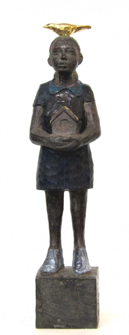 Vogelfrau Bronze 8/9