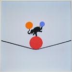 Punkt und Linie 40 (Elefant 1)