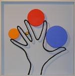 Punkt und Linie 4 (Hand)