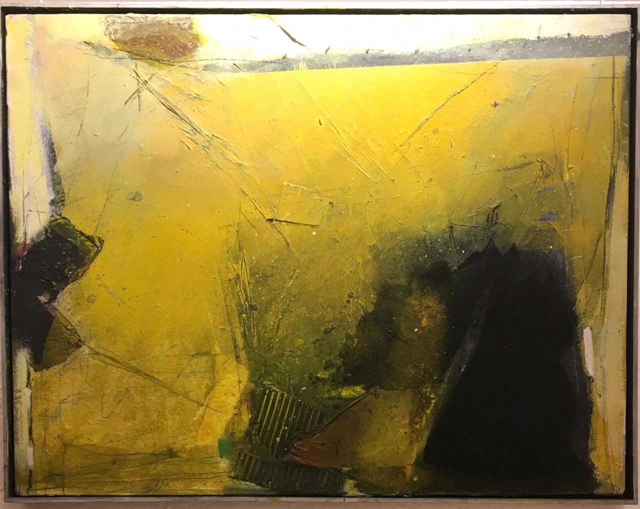 o.T. Senfgelb (51 x 67 cm)