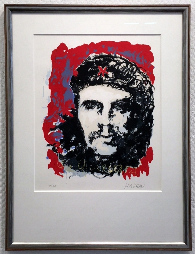 Che Guevara, gerahmt