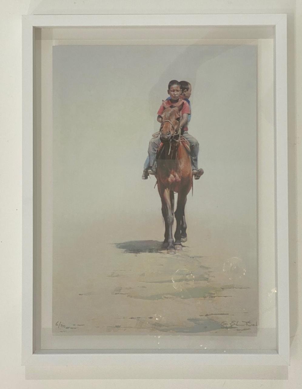 Untitled (2 Jungen auf Pferd)