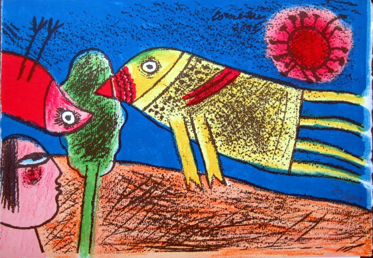 Oiseaux et Soleil