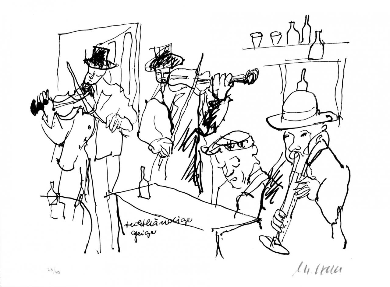M. Darwish. Die Violinen