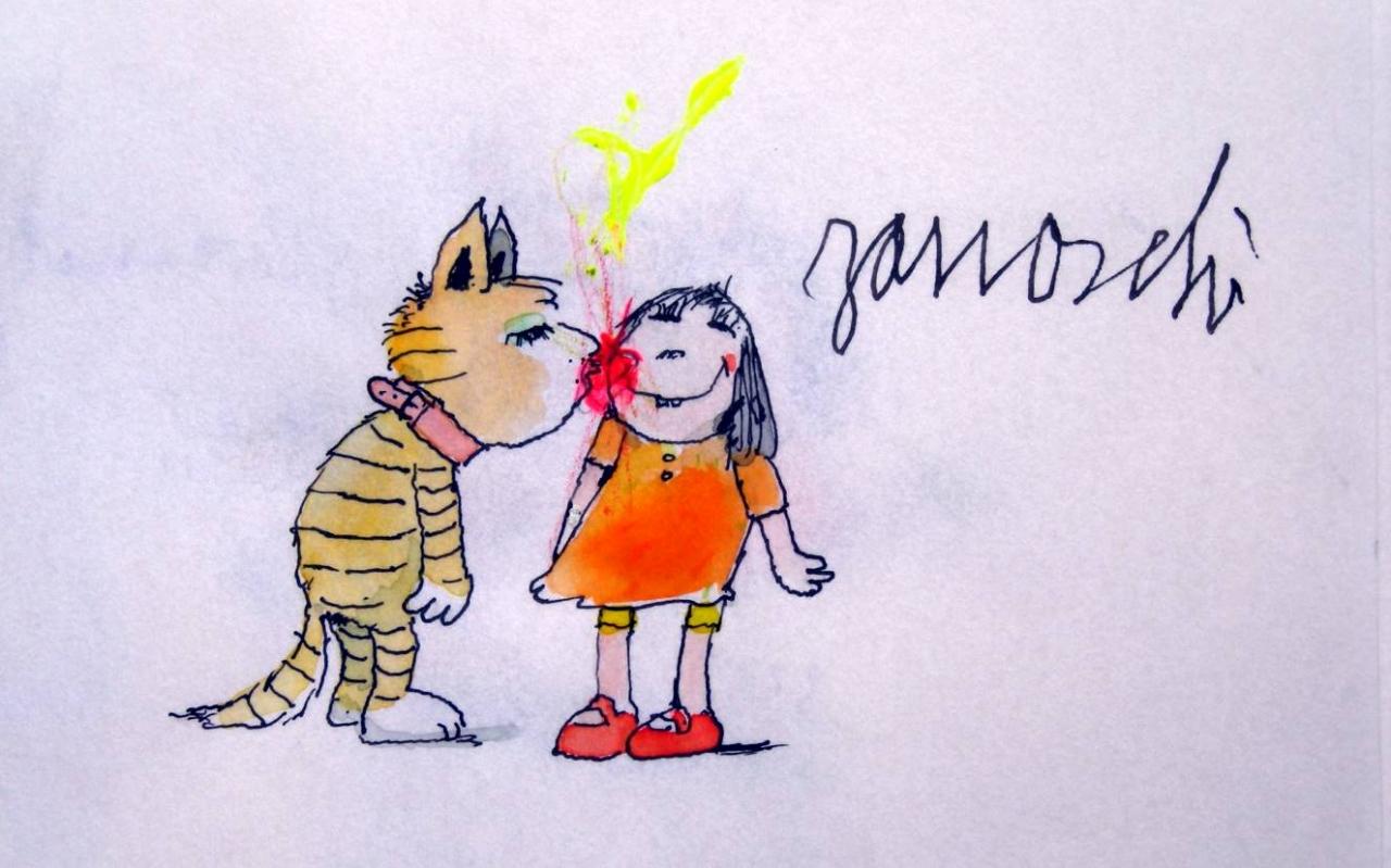 Katzenkuss brennt heiß wie Feuer