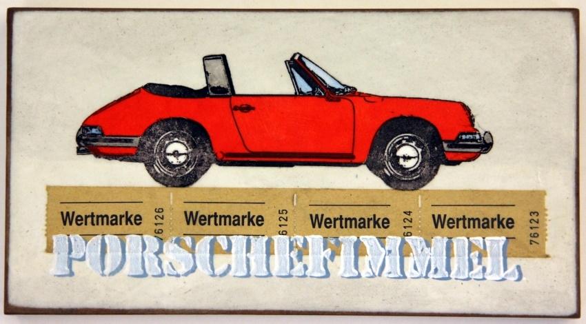 Porschefimmel Rot nach Rechts