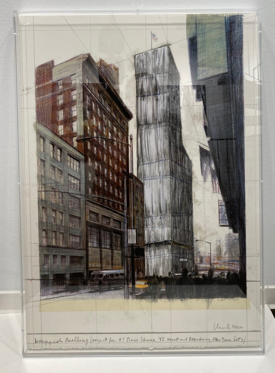 Wrapped Building, Project for No. 1 Times Square