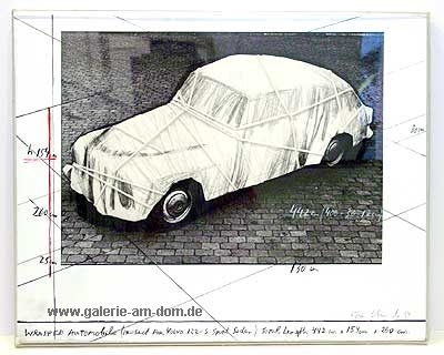 Wrapped Automobile 1984 (Project for VOLVO)