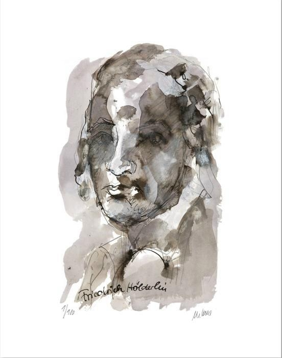 Porträt - Friedrich Hölderlin