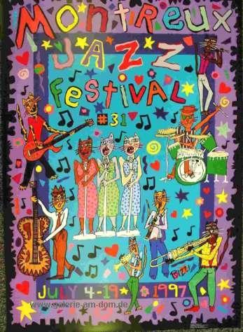 Poster: Montreux Jazz Festival