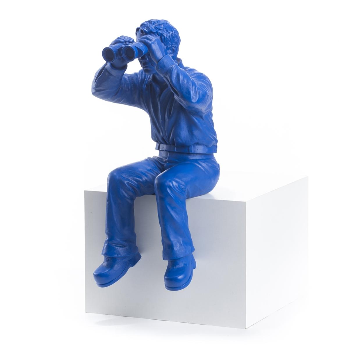 Weltanschauungsmodell II - blau - signiert
