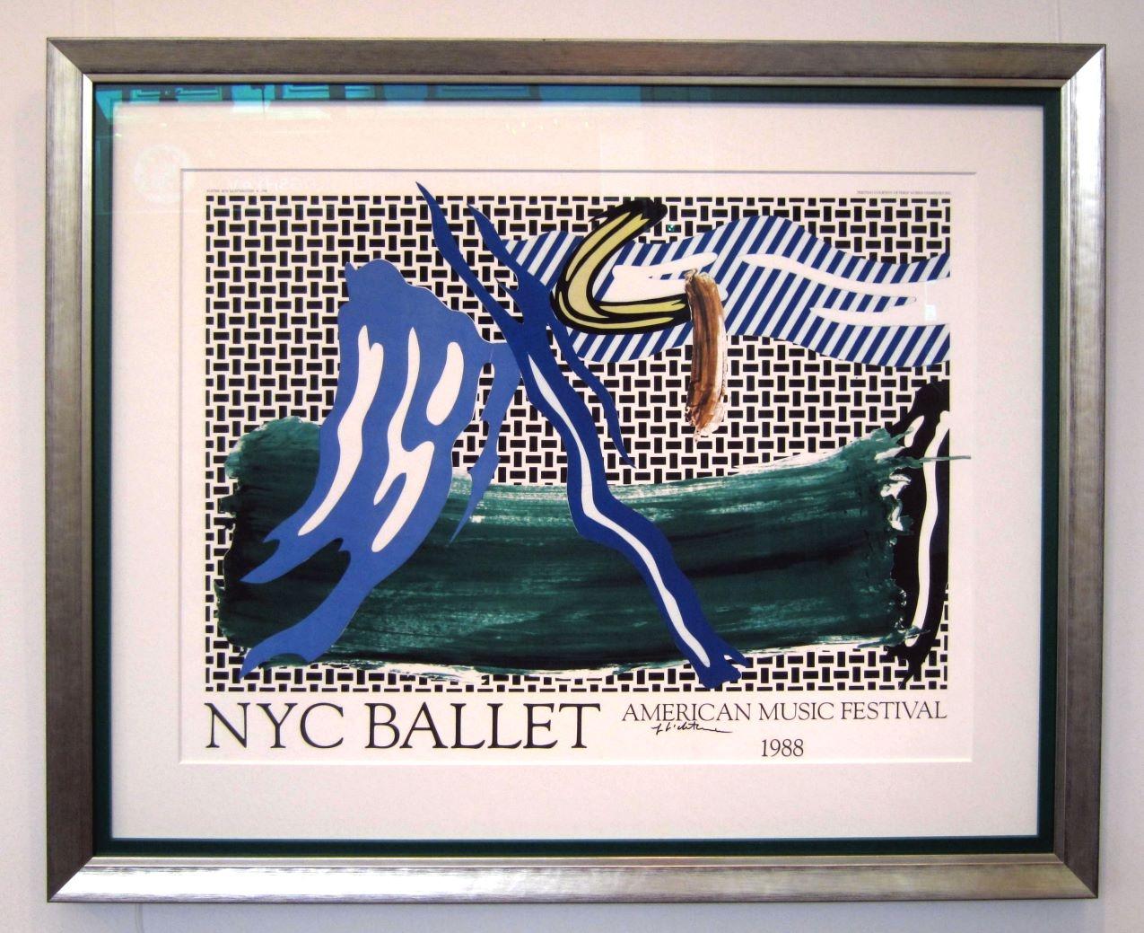 NYC Ballet, gerahmt