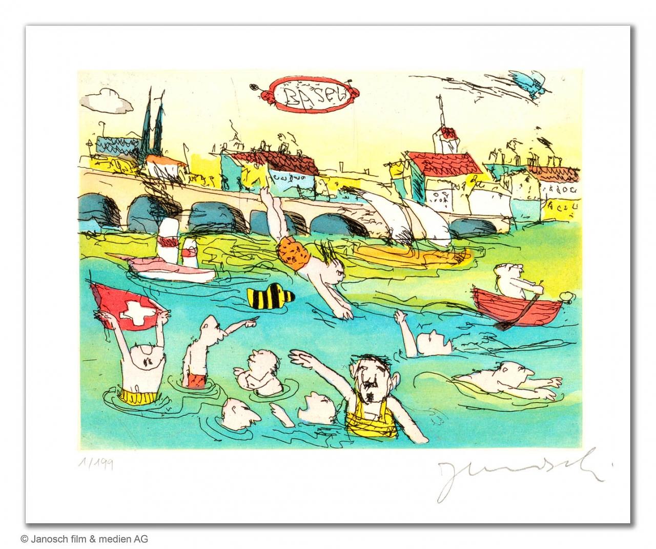 Basler Rheinschwimmen