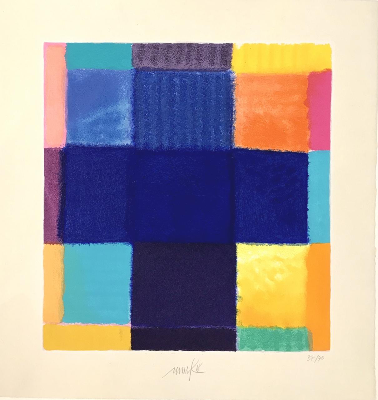 o. T. (Blaues Kreuz), 2019