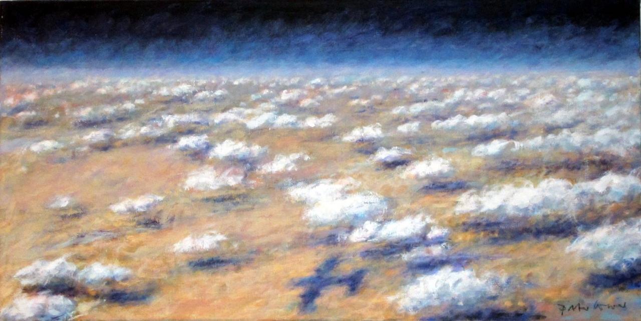 Über den Wolken (mit Flieger)