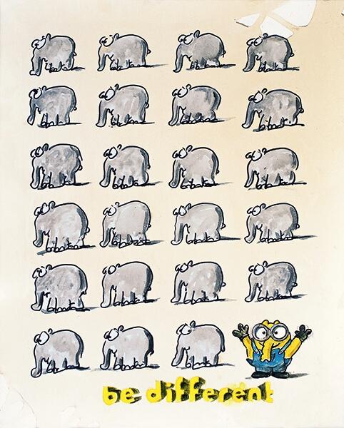 Be Different - Minionfant
