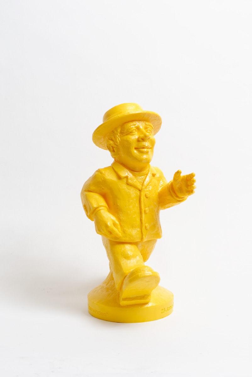 Einheitsmännchen - gelb