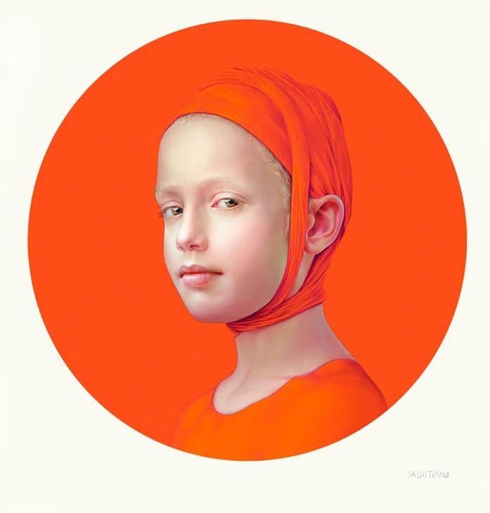 June (Orange I), 2019