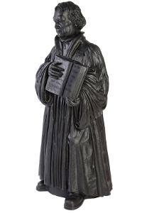 Martin Luther - schwarz, signiert