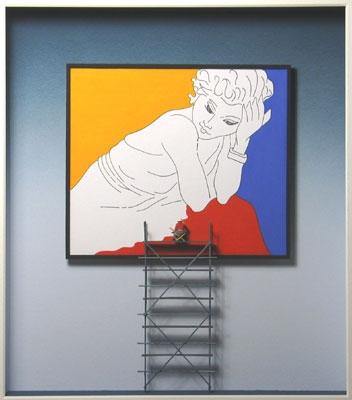 Homage to Henri Matisse (Gerüst)
