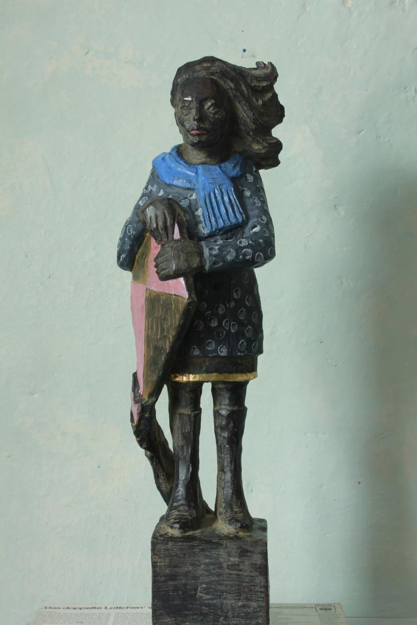 Drachenfrau Bronze EA 1/3