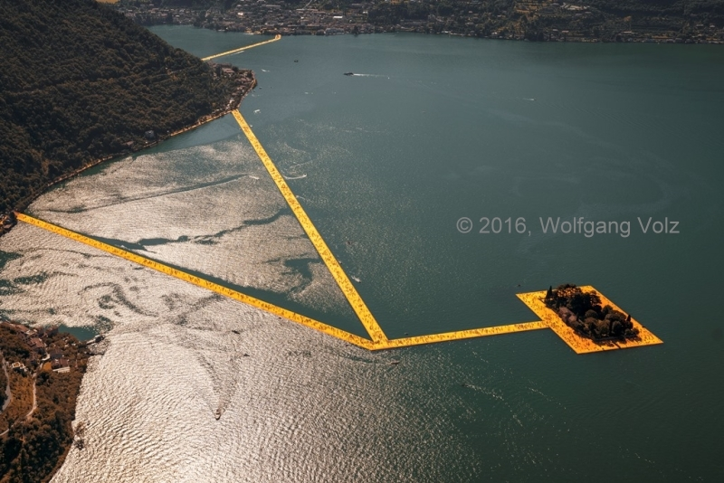 ohne Titel, 2016 (The Floating Piers) - WV 04
