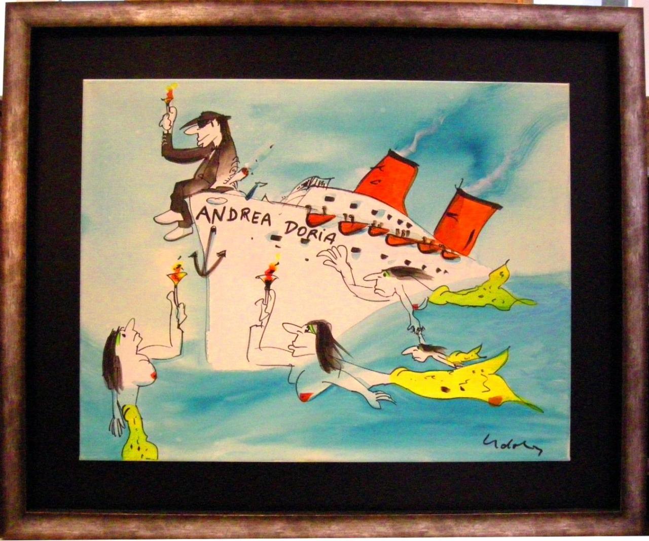 Andrea Doria 1 auf Leinwand