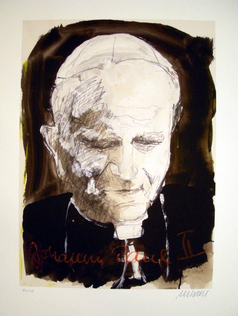 Porträt - Johannes Paul II.