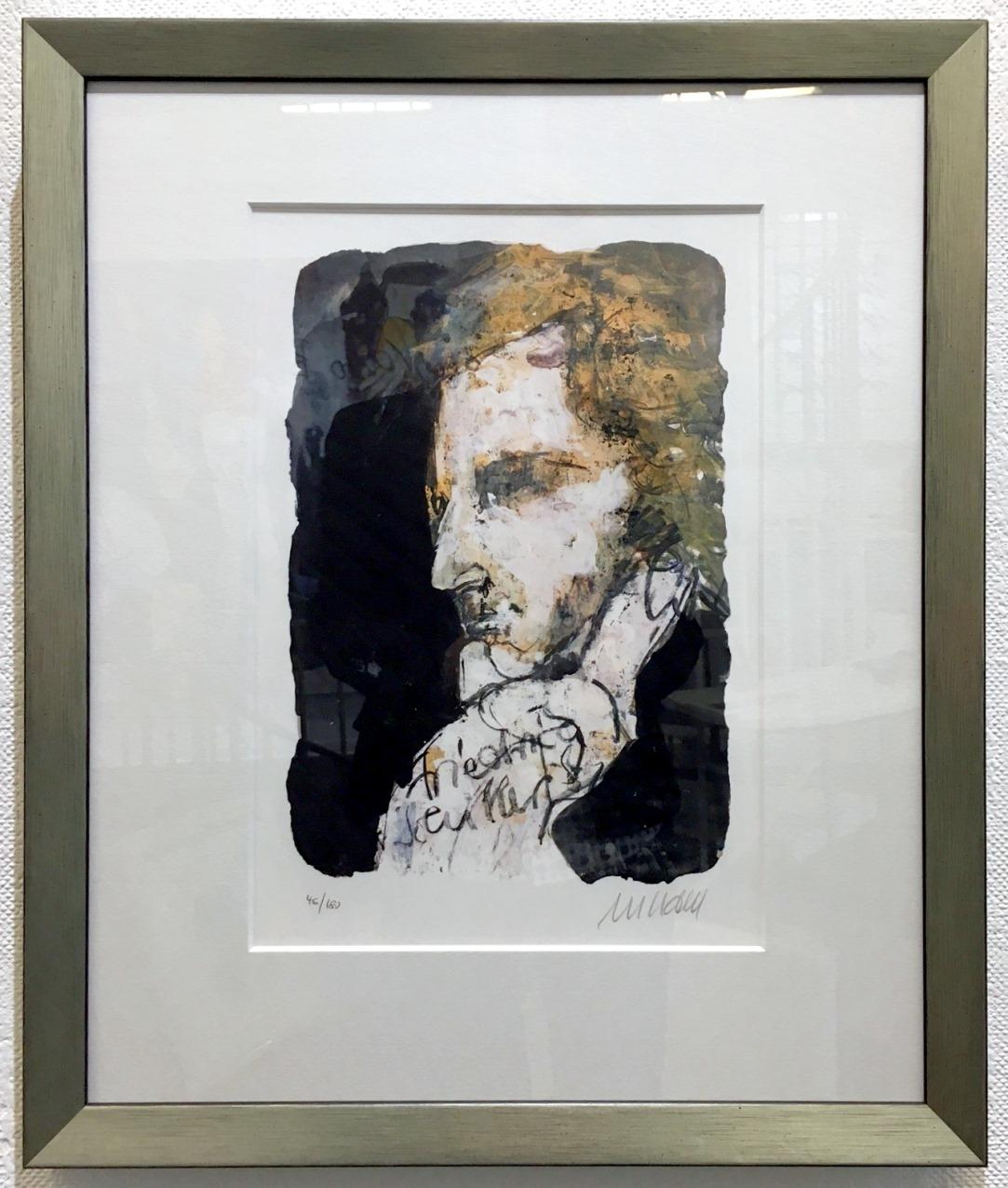 Porträt - Friedrich Schiller, gerahmt