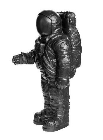 Astronaut - schwarz, signiert