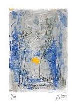 Harlekin und Columbine (nach Picasso)