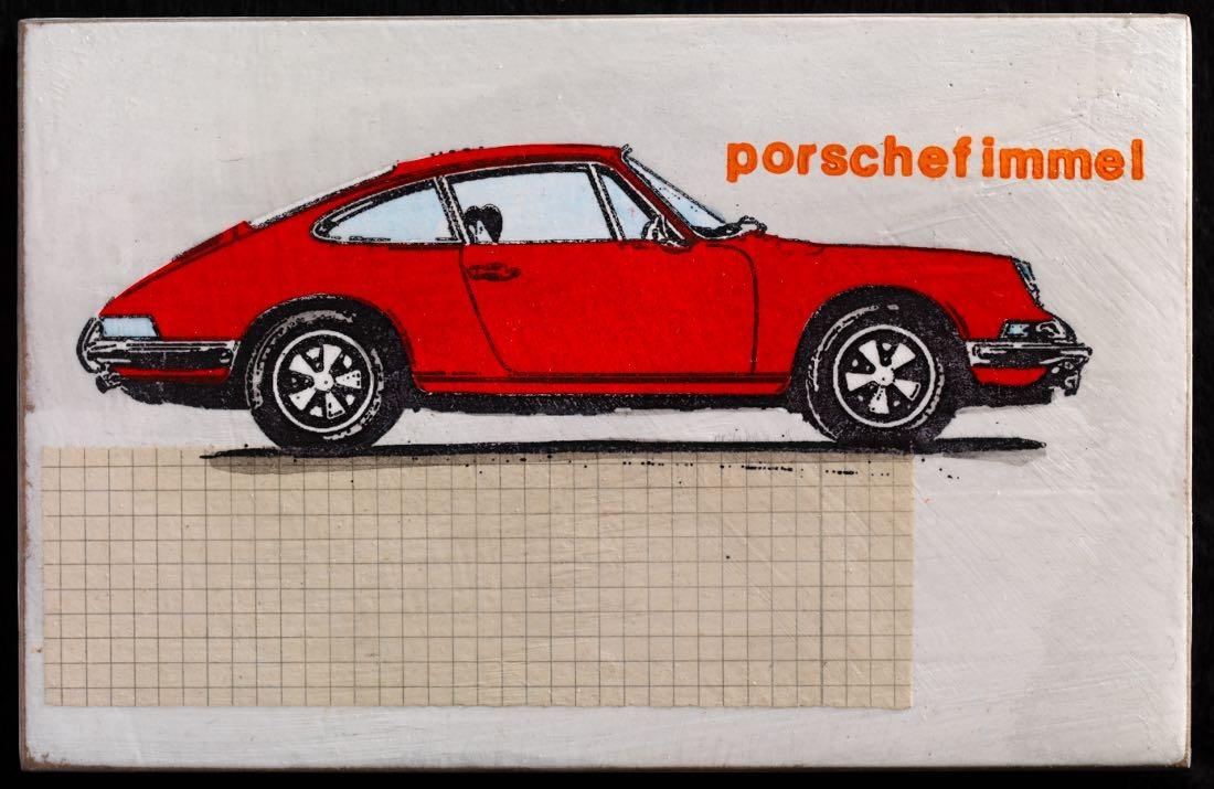 Porschefimmel - 911s rechts rotorange