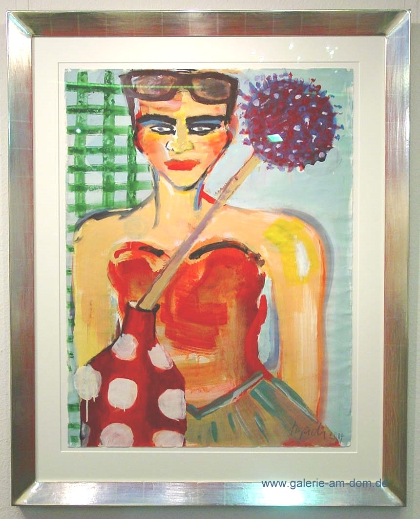 o.T. 2004 (Mit Sonnenbrille)