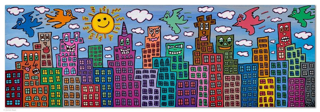 It´s so fun to live in a pretty city