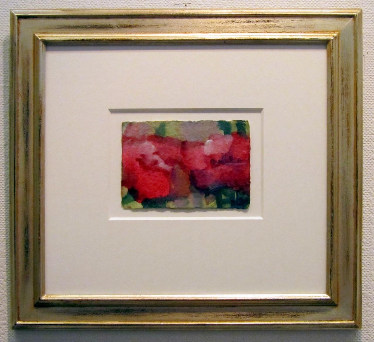 Rosen - pink, gerahmt