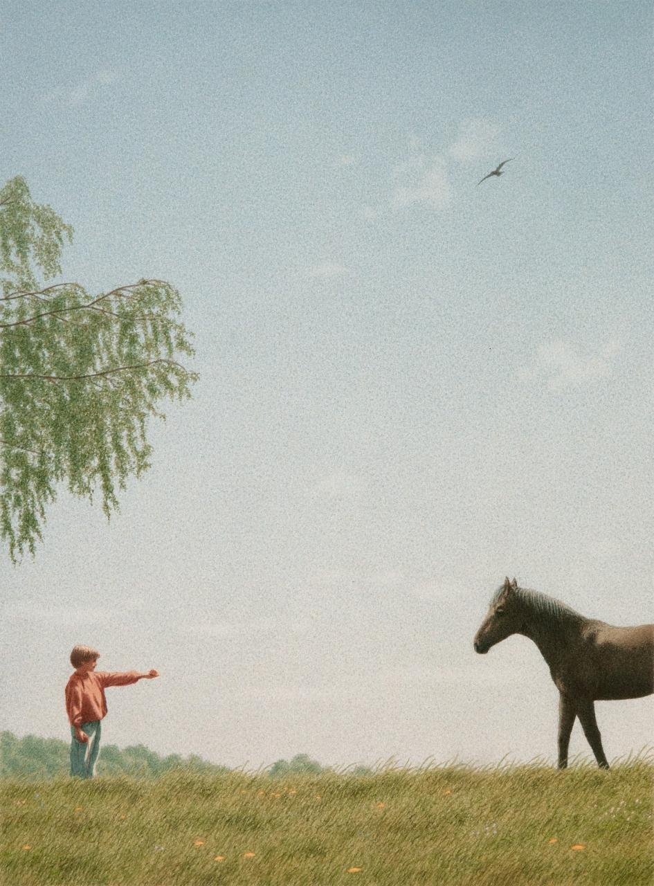 Matti und der Großvater (V.) (Matti und das Pferd)