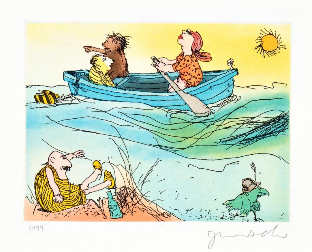 Es schwankt das Meer ...