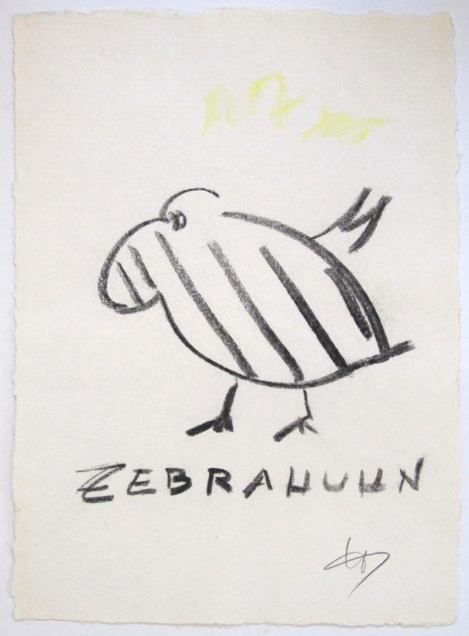 Zebrahuhn