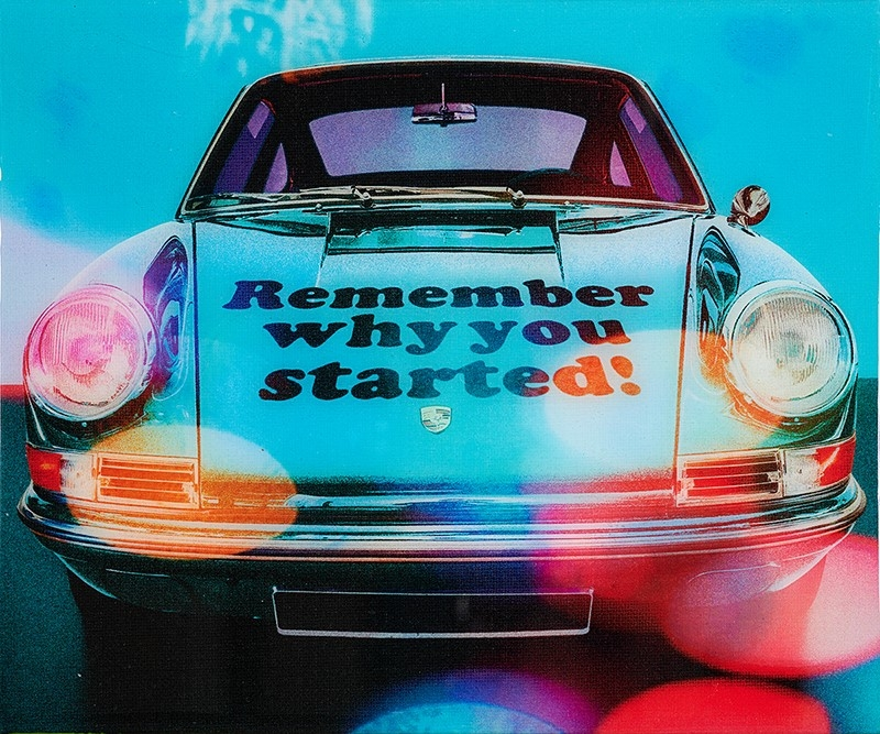 Remember Why - Epoxy -
