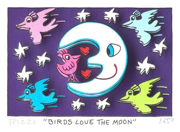 Birds Love the Moon